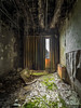 Nature comes back at the 4th floor (Max Brocel) Tags: abandoned abandonné urbex exploration hotel room interior interieur concret rusted rust rouille rouillé nature 1018mm canon 750d 1018 wide grand angle