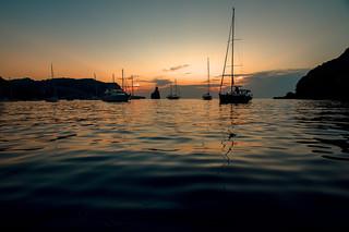 Balearic anchorage....