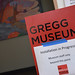 "Some of the Gregg Museum space is still under tight wraps during installation and the contents are on a ""need to know basis."""