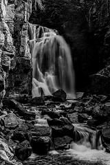 Falling Light (Kent Copeland) Tags: nature water blackandwhite bnw absarokamountains beartoothfalls cody wyoming unitedstates