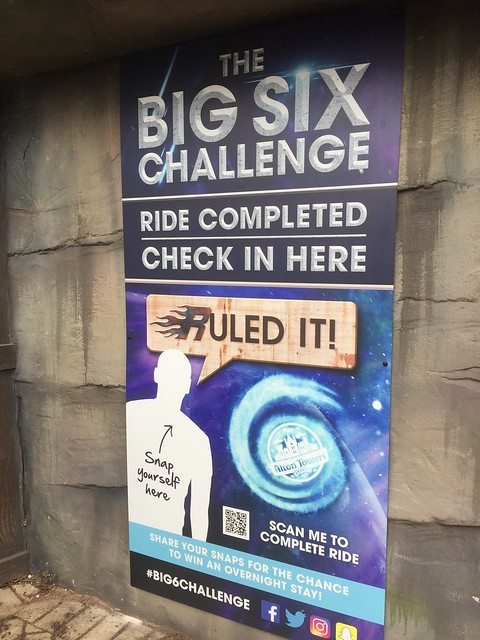 Big Six Challenge 2017 - Rita Check In Sign