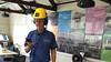 Hardhat Headphones Audio Tour Teeside Transporter Bridge Visitor Centre