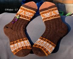 2017-08-04 Kanteletar (12) (hepsi2) Tags: tds2017 tds2017kanteletar kanteletar socks sukat colorwork strandedknitting