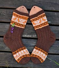 2017-08-04 Kanteletar (7) (hepsi2) Tags: tds2017 tds2017kanteletar kanteletar socks sukat colorwork strandedknitting