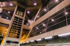 York University Station (dtstuff9) Tags: toronto ontario canada ttc transit commission york university subway station elevator platform