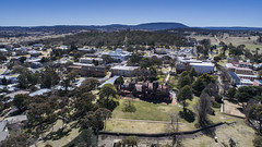 UNE 1 (David Elkins Photography Australia) Tags: universityofnewengland aerial david elkins photography