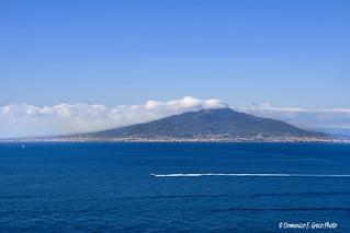 golfo di Sorrento... con il Vesuvio a guardare..