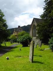 27vii2017 Stokesay 43 (garethedwards36) Tags: grave graveyard memorial churchyard cross stokesay shropshire uk lumix