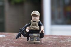 Spec Ops Operator (LegoInTheWild) Tags: moc afol lego military minifigure brickarms sidan