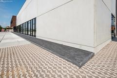 Vandemoortele-6440-0716 (EbemaNV) Tags: oostkamp bouwmaterialen vande moortele kortrijksestraat 181 8020 aviena circle grastegels grasbetontegels met groef rockstone dark 20x5x6