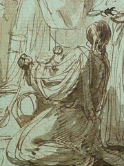SUVÉE Joseph Benoît - La Présentation de Jésus au Temple (drawing, dessin, disegno-Louvre INV34397) - Detail 16 (L'art au présent) Tags: art painter peintre details détail détails detalles drawings dessins 17thcenturydrawings dessinsfrançais frenchdrawings peintresfrançais frenchpainters museum paris france bible adoration worship saint bless sacred holy blessed figure personnes people femme femmes woman man men virgin vierge enfant child enfance kid baby bébé childhood parents family famille croquis étude study sketch sketches dessins18e 18thcenturydrawings