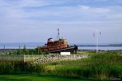 170829-10 Musée maritime de Charlevoix (clamato39) Tags: musee maritime museum charlevoix provincedequébec québec canada ciel sky nuages clouds bateau boat fleuvestlaurent stlawrenceriver