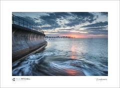 Teignmouth (tobchasinglight) Tags: dawn devon pier shaldon southwest sunrise teignmouth uk â©paulmitchell