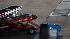Offduty Ramps (Theen ...) Tags: airport baggage blue concrete conveyor loading lumix melbourne offduty ramp red sun theen trolley tullamarine virgin white