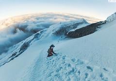 """Hold on"" - Volcano Cotopaxi - Ecuador (TLMELO) Tags: cayambe cotopaxi antisana corazon ecuador volcano vulcan vulcão equador summit cumbre keepwalking justdoit impossibleisnothing man home kneel ajoelhado crater cratera andes pequeñoalpamayo southamerica américadosul altiplano climb climber mount trekking sky céu clouds caminhada heavy hiking climbing hike backpack backpacking walking walk ice glacier glaciar gelo snow neve cume landscape nature natureza paisagem trilha mountain montanha mountaineer panorama illinizas"