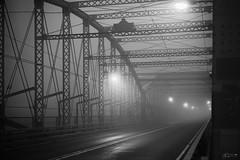 (Mr. Tailwagger) Tags: leica m10 tailwagger lowell ma summiluxm asph 50mm black chrome bridge fog steel trestle