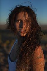 mixtli on the mesa (pixiebat) Tags: martimills pixiebat model girl portrait sunset goldenhour outdoor gold beautiful pretty sexy editorial fineart headshot galmour fashion