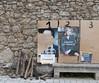 Saint-André-de-Buèges (Hérault, France) (Denis Trente-Huittessan) Tags: affiches élections présidentielles2017 macron lepen francerurale