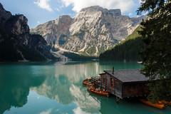 Lago di Braies (edwardjdeleon) Tags: lago di braies dolomites veneto italy lake mountains reflections colors