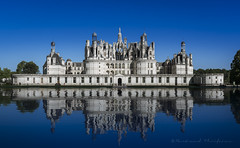 Chambord bleu roi (Bertrand Thiéfaine) Tags: 2017 chambord d750 château parc été reflets bleu architecture renaissance valdeloire châteaudelaloire roi loiretcher france