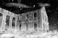 Fábrica abandonada montaje Jose Luis Martín (1) (Jose Luis Martin Fotografia) Tags: fantasy blanco andalucía andalucia arquitectura arte artificiales otoño monumento nocturna nocturno turismo magia