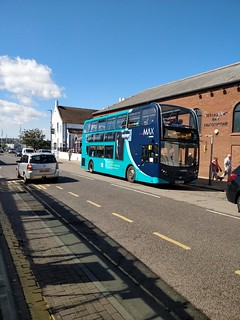 Arriva North East Enviro 400 NK64EEU