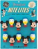 Disneyland Nite Lites, 1960s (Tom Simpson) Tags: disney disneyland nitelite nightlights vintage mickeymouse donaldduck 1960s