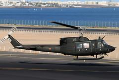 HU.14-18_01 (GH@BHD) Tags: hu1418 et275 agustabell bell ab212 uh1 huey spanisharmy ace gcrr arrecifeairport arrecife lanzarote helicopter chopper rotor military aircraft aviation