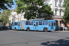 2017-06-30, Odesa, Vul. Rishelievska (Fototak) Tags: trolleybus odesa filobus ukraine obus ligne9 2027