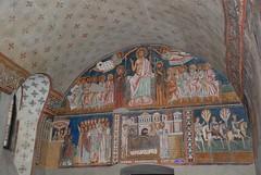 Pare d'ingresso (visione d'insieme) - Oratorio di San Silvestro - Roma