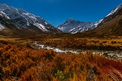 Beneath Every Mountain Lies A Valley (Anna Kwa) Tags: hookervalleytrail aorakimtcooknationalpark trekking mountcook southernalps southisland newzealand annakwa nikon d750 afszoomnikko1424mmf28g my mountain valley always whatmatters seeing heart soul throughmylens travel world destiny fate