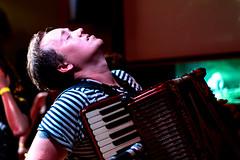The Mouldy Lovers (Louis Whelan - piano accordion) (Dakiny) Tags: 2017 summer august japan night tokyo shibuya city street music live rock band ska people portrait nikon d750 nikkor 50mm f18 afsnikkor50mmf18g nikonafsnikkor50mmf18g nikonclubit