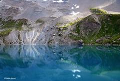 Reflets sur le lac (4) (didier95) Tags: lacsteanne lac hautesalpes montagne reflet paysage queyras texture nature fabuleuse