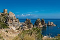 Faraglioni di Scopello (Antonio Casti) Tags: sicilia vacanze2017 faraglionidiscopello casty sicily italy italia panorama mare maretrasparente viaggio castellammaredelgolfo it