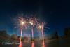 Fireworks, Voves, France (da_v_id) Tags: 14thofjuly bastilleday celebration colours explosions fireworks forework france independanceday lake longexposure nationalday night nightphotography pond reflections rockets sky voves water