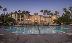 Marriott Villas Newport Beach, CA (MickDL) Tags: california villas mickdl pool palms