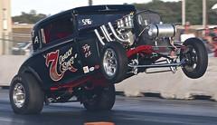 Salute! (Bill Jacomet) Tags: funnycar chaos denton tx texas 2017 north star dragway drag racing strip funny car