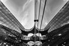 Batcave in the mirror (Maerten Prins) Tags: england brittain londen london batcave batman building modern reflection curve glass upshot blackandwhite monochrome architecture sky symmetrical symmetry