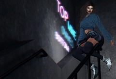 3.0 (Carley Benazzi) Tags: urban uc unitedcolors fur fashion ghee bento besom model mesh makeup maitreya uber couture thecosmopolitanevent sanarae spartinparxposes events accessories scandalize yinyangevent scala