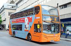 YN14 MUC. (curly42) Tags: yn14muc nottinghamcitytransport 622 scanian230ud enviro400 bus transport