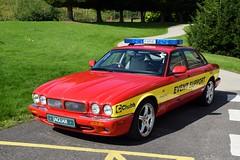 Jaguar (markkirk85) Tags: fire engine appliance jaguar xjs angus thrust ssc