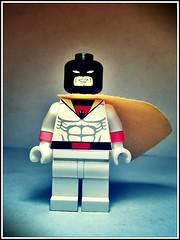 Space Ghost (LegoKlyph) Tags: lego custom cartoon minifigure brick block art spaceghost silly retro space ghost iconic zap