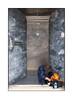 Homeless Man, East London, England. (Joseph O'Malley64) Tags: homeless homelessman homelessinlondon2017 bereft invisible eastlondon eastend london england uk britain british greatbritain vulnerable atrisk doorway door stainlesssteeldoor entrance exit marbledpanels intercom keypadentrysystem buzzer nosmokingsign sign signage stone joe55 slang tags sleepingrough roughsleeping urban fujix x100t accuracyprecision