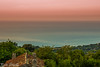 Vista dal terrazzo... (paolotrapella) Tags: mare sunset tramonto rosso red water acqua canon panorama landscape paolotrapella