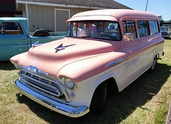 1957 chevrolet (bballchico) Tags: 1957 chevrolet suburban billetproof carshow
