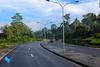Double Lane @ St. Joseph's Corner (Sudo SnapIT) Tags: lae morobe papaunewguinea png landscapes mountains clouds streets coconuts pacific
