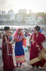 En Famiia Chowpatty beach (Sebhue) Tags: chowpattybeach mumbai bombay india