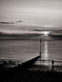 Stranger on the shore ...