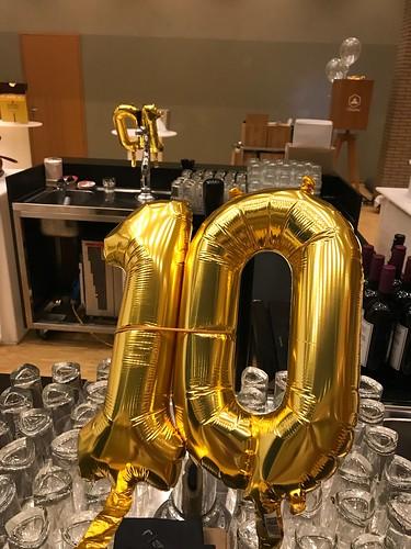 Folieballon Cijfers van der Valk Gran Cafe Burgerzaken Ridderkerk