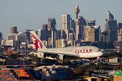Qatar Airways A380 A7-APH 17-09-17 (Kieran Wells Photography) Tags: airplane city sky airbus a380 qatar sydney doha